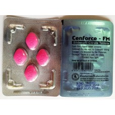 Cenforce FM 100mg Sildenafil 5 strippen 20 erectiepillen