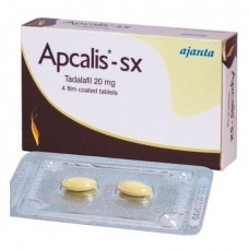 Cialis Apcalis SX Tadalafil Ajanta Pharma Erectie pil 20mg 5 strippen 10 Tabletten