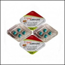 Super kamagra erectiepil Ajanta Pharma 1 strip 4 tabletten